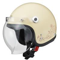 Street Alice QP-2 スモールロージェットヘルメット アイボリー