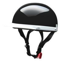 CROSS CR-741 ハーフヘルメット ブラック