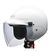 apiss AP-603 セミジェットヘルメット ホワイト