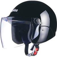 apiss AP-603 セミジェットヘルメット ブラック