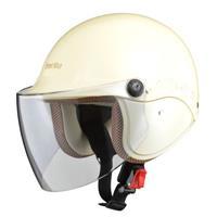 Street Alice QJ-3 セミジェットヘルメット パールアイボリー
