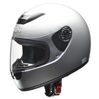 CROSS CR-715 フルフェイスヘルメット シルバー