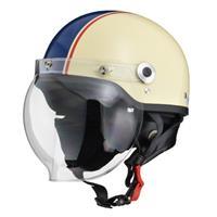 CROSS CR-760 ハーフヘルメット アイボリー×ネイビー