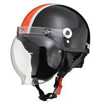 CROSS CR-760 ハーフヘルメット ブラック×オレンジ