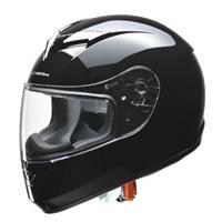 STRAX SF-12 フルフェイスヘルメット ブラック M