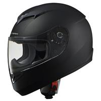 STRAX SF-12 フルフェイスヘルメット マットブラック M