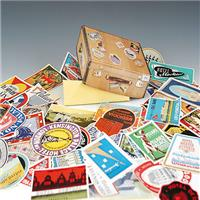 DULTON Old hotel labels(50stickers/set)