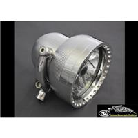 Kens Factory Neo-Fusion 4.5in Headlight Pol/Pol Ring