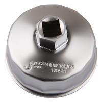 オイルフィルターカップレンチ 65mm シルバー