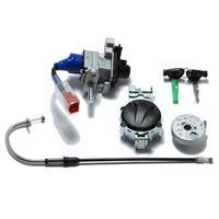 燃料キャップ/ケーブル/メインキー&シャッターセット