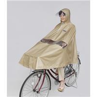 D-3PORA 自転車屋さんのポンチョ プレミアム ベージュ