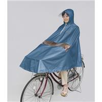 D-3PORA 自転車屋さんのポンチョ プレミアム ブルー