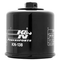 KN-138 オイルフィルター ブラック カートリッジタイプ