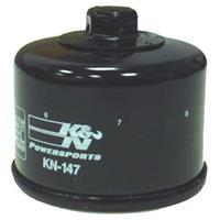 KN-147 オイルフィルター ブラック カートリッジタイプ