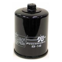 KN-148 オイルフィルター ブラック カートリッジタイプ