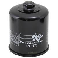 KN-177 オイルフィルター ブラック カートリッジタイプ