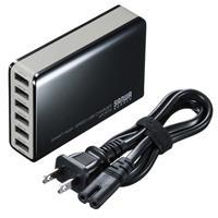 ACA-IP40BK 6ポートUSB充電器