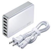 ACA-IP40W 6ポートUSB充電器