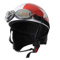 ビンテージヘルメット レッド/スター