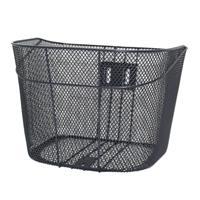 D型メッシュバスケット グレー