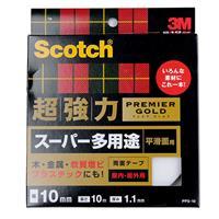 超強力プレミアゴールド スーパー多用途両面テープ 10mm×10m×1.1mm