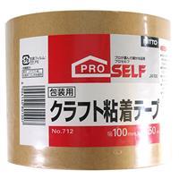 クラフト粘着テープ 100mm×50m×0.15mm