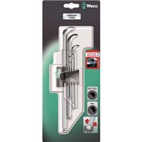Wera 950PKLS/9SMSB ヘックスキーセット(ブリスター)