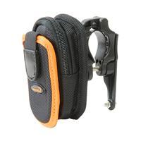 IB-PB2+Q1 小物&携帯電話バッグ with ボトルケージマウント ブラック