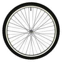 前輪アルミリム 完組み 26×1.75 36H