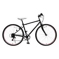 【直送】TOP ONE 26型シティクロスバイク ブラック