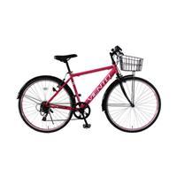 【直送】VIENTO 26型シティクロスバイク ピンク