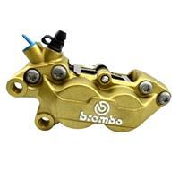 【訳あり】BREMBO 4POTキャスティングキャリパー40mmピッチ 左