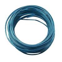 ステンレス,スチールワイヤー 0.8mm × 5m ブルー