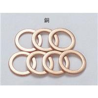 クラッシュワッシャー 銅 1mm厚(内径10mm)