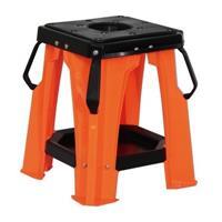 プラスティック製 オフロード メンテナンススタンド オレンジ