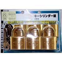 同一キーシリンダー錠 VA-035