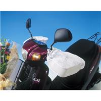 SHB2000 バイク用 サマーハンドルカバー白