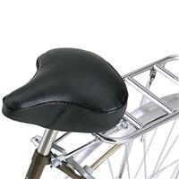 自転車用サドルカバーXLサイズ ブラック