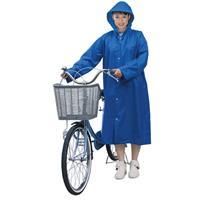 ポケットコート(こぎやすいレインコート) ブルー