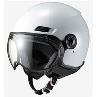 ジェットヘルメット MS-340 パールホワイト M