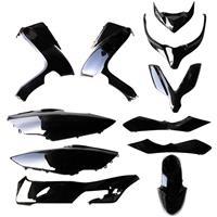 【訳あり】「サイドアンダーカバー右なし」フォルツァX/Z MF10 外装11点セット ブラック