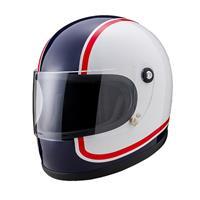 ニューレトロフルフェイスヘルメット M 750青