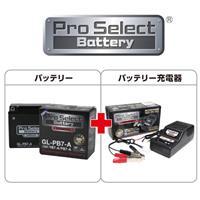 【セット売り】GL-PB7-A (YB7-A、12N7-4A 互換)(ジェルタイプ 液入り充電済み)