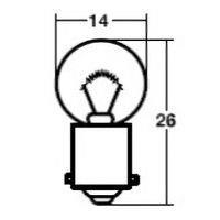 メーター球 A579 12V10W 1ケース(10個入)