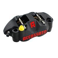 【受注生産品】鍛造モノブロック レーシングブレーキキャリパー(アルミピストン) PZ002 左側 108ミリピッチ