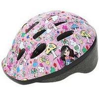 P-MV12 パルミーキッズヘルメット キノコ/ピンク(M23)
