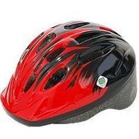 P-MV12 パルミーキッズヘルメット レッド/ブラック(M25)
