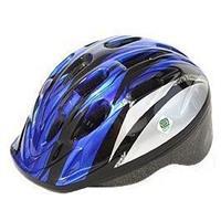 P-MV12 パルミーキッズヘルメット シルバー/ブルー(M26)
