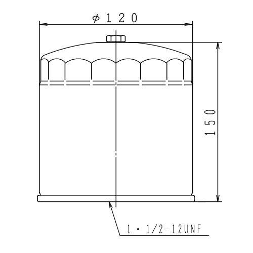 オイルフィルタ— 4ID-148