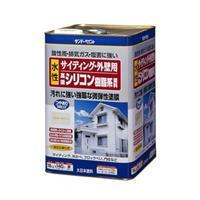外壁サイディング塗料 水性 ホワイト 16kg
